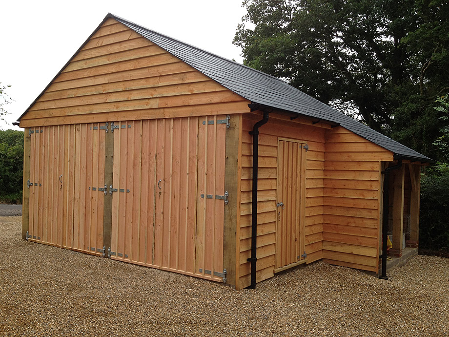Timber frame garage plans uk design for shed for Log garage designs