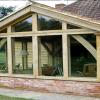 Single storey living room extension