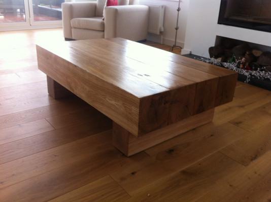 Green Oak Coffee Tables