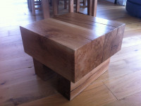 Green Oak Coffee Tables